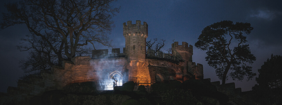 step back in hi... Warwick Castle Weddings