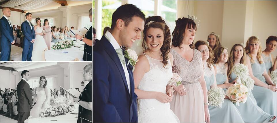 Henley in arden golf club wedding pictures