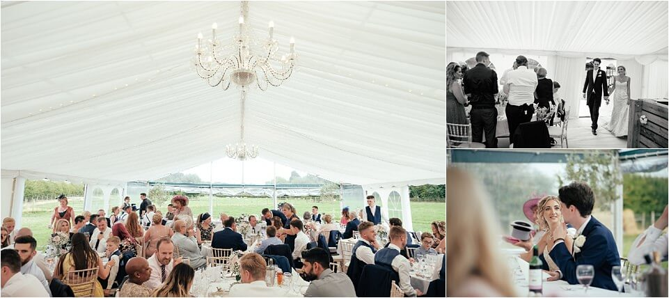 Marquee Wedding Photography