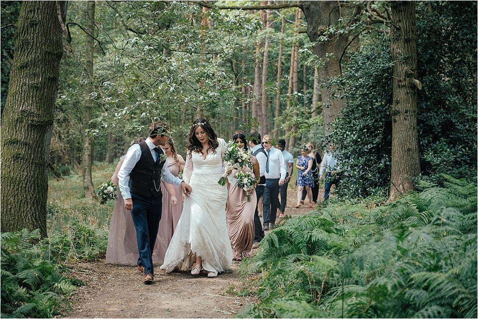 Enchanting Woodland Wedding Photography
