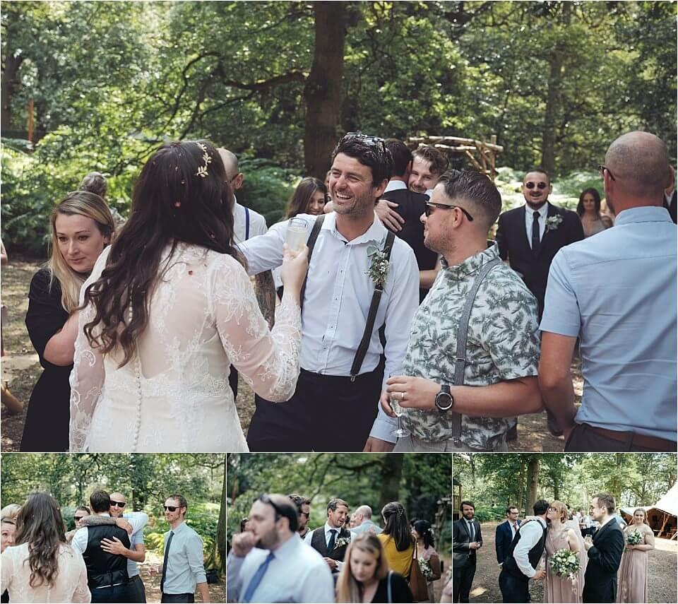 Enchanting Woodland Wedding Photographer