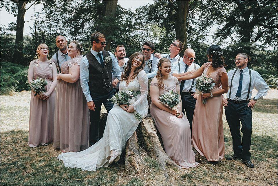 Enchanting Woodland Wedding Photos