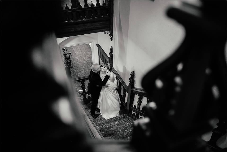 Dumbleton Hall Hybrid Wedding Photographer