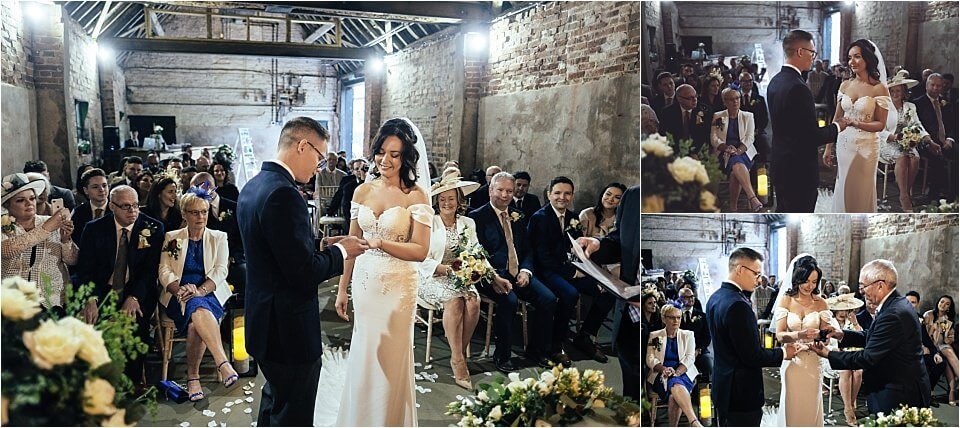 The Cowshed at Woodhall Farm Wedding Photographers