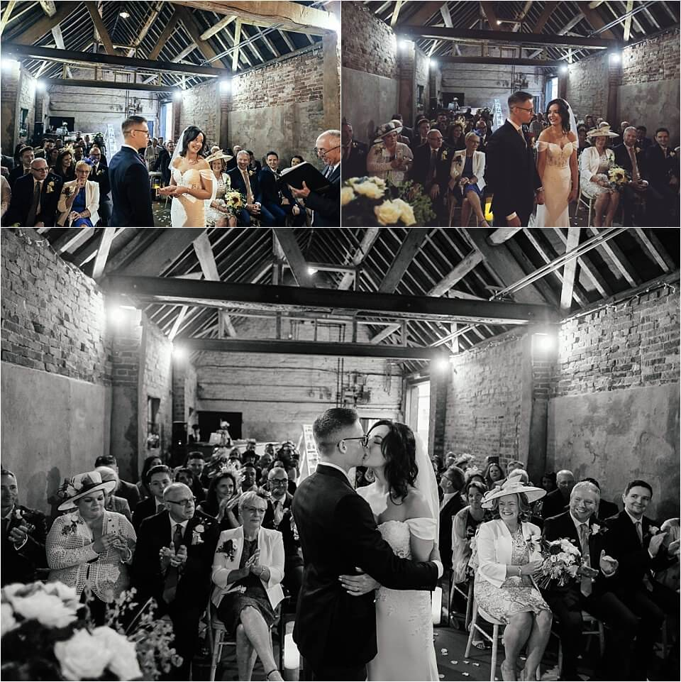 The Cowshed at Woodhall Farm Wedding