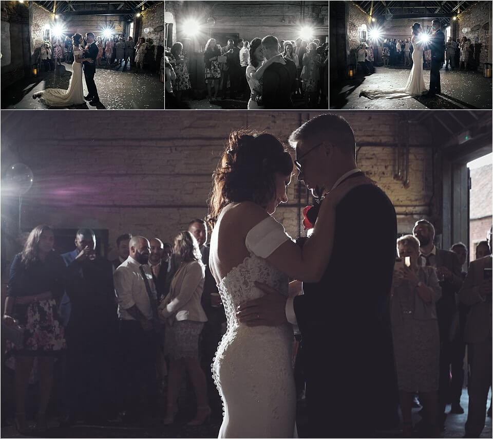 The Cowshed wedding