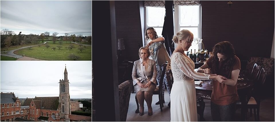 Stanbrook Abbey Hotel Wedding Photography